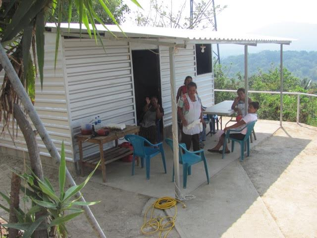 Tutultepeque Medical Centre is similar to this one built by MEMO in La Presa.