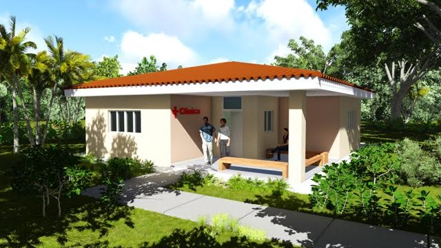 Here were the architects drawings of the Nicaragua clinic. It is now a reality so I will ask Wally to send us some pictures of the actual clinic.