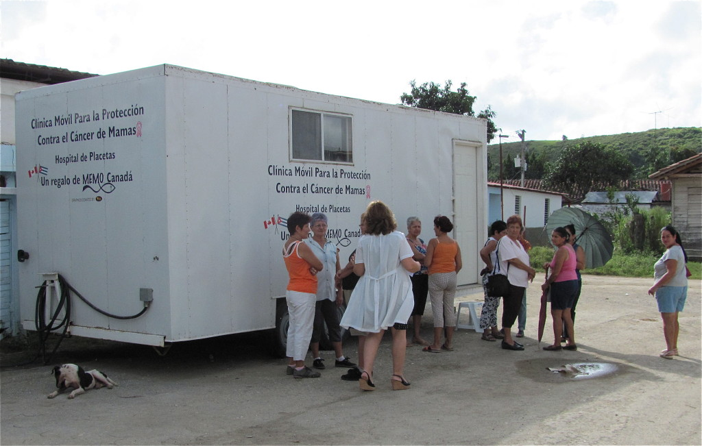 MEMO Mobile Beast Screening clinic in Cuba